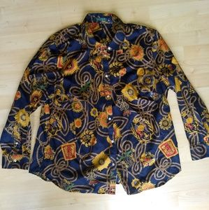 Vintage Lauren RL Button-up